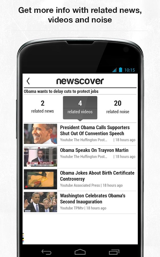 newscover - screenshot