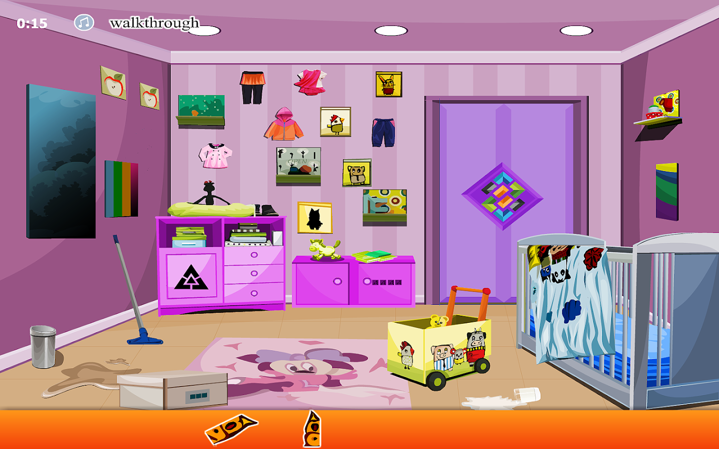 Messy Baby Room Escape- screenshot