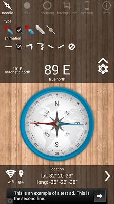 Advance Compass - screenshot