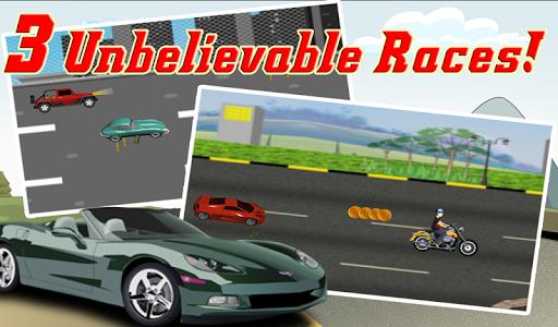 【免費賽車遊戲App】Turbo Speed - 摩托车卡车和汽车疯狂的比赛-APP點子