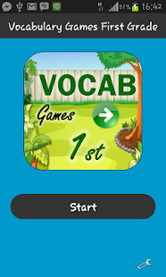 玩教育App|Vocabulary Games First Grade免費|APP試玩