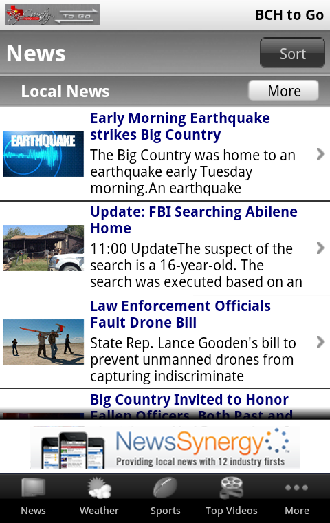 BigCountry To Go - screenshot