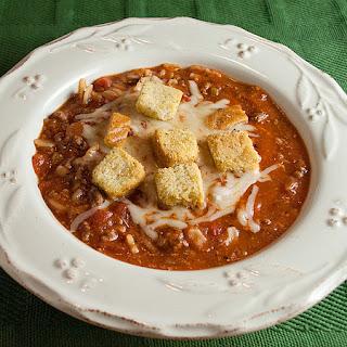 Tastes Like Lasagna Soup Recipe