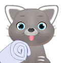 cat salon games icon