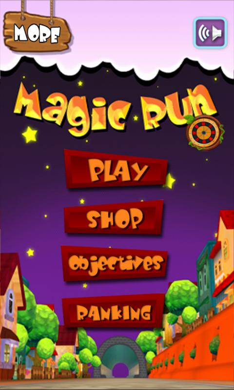 MagicRun - screenshot