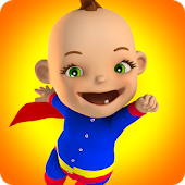 Baby Hero 3D - Super Babsy Kid