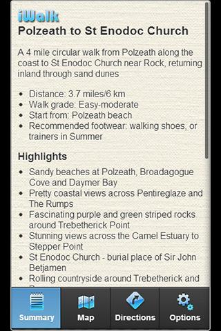 iWalk Polzeath to St Enodoc