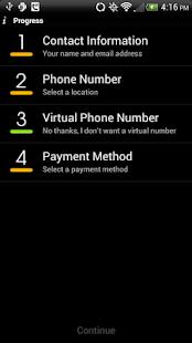 V-Star Mobile VoIP / SIP Phone - screenshot thumbnail