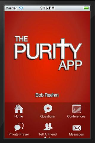 The Purity App - screenshot
