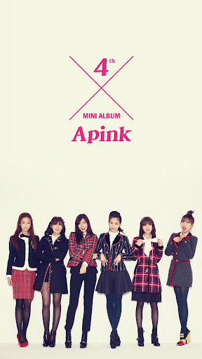 Apink Buzz Launcher Theme
