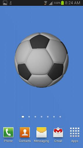 Soccerball Live Wallpaper Free