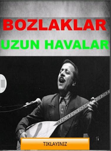 Bozlak Ve Uzun Hava Türküler