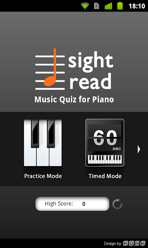 Sight Read Music Quiz 4 Piano