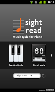 Sight Read Music Quiz 4 Piano - screenshot thumbnail