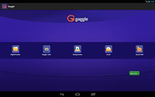 Screenshot of Gaggle