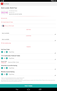 Live Nation – Concert Tickets - screenshot thumbnail