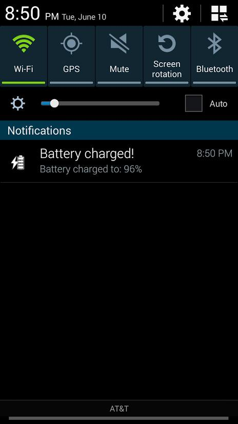 Battery Charge Alert- screenshot