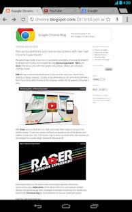 Chrome Browser - Google - screenshot thumbnail