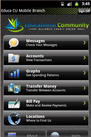 EduCa CU Mobile Banking