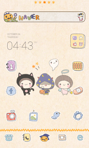 Halloween Dodol launcher theme