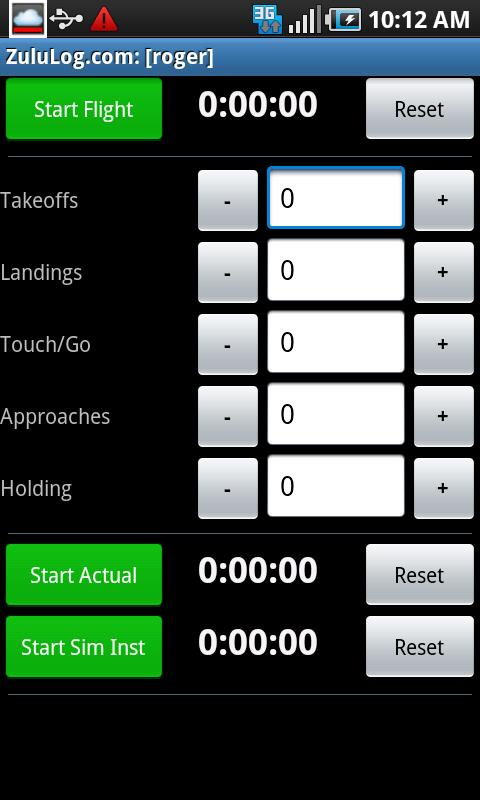 ZuluLog Pilot Logbook - screenshot