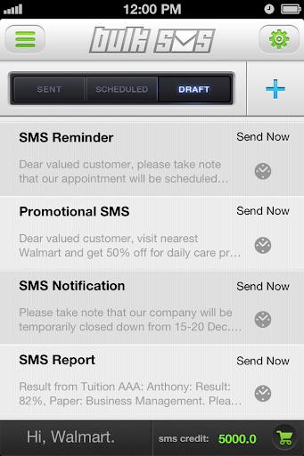 MV Bulk SMS-International SMS