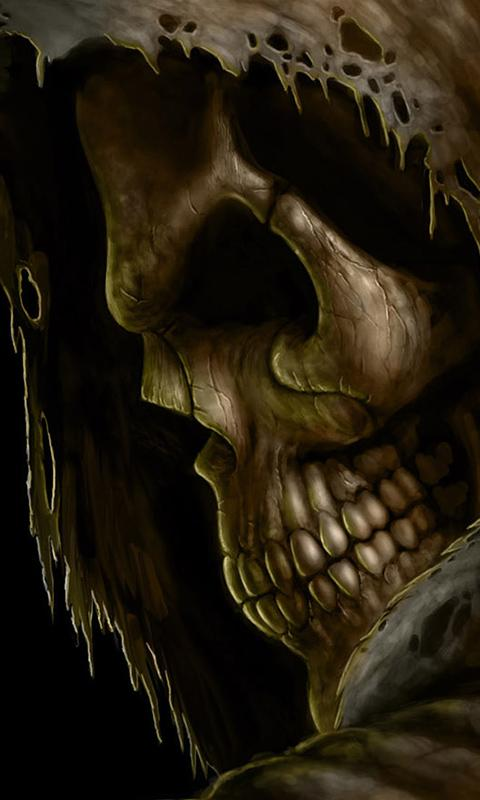 cool rock skull live wallpaper - photo #26