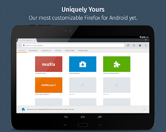 Firefox Browser for Android Screenshot 1