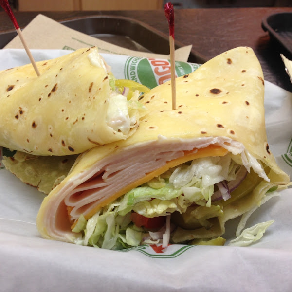 New gluten free wrap!