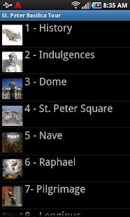 Vatican St Peter Basilica Rome- screenshot thumbnail
