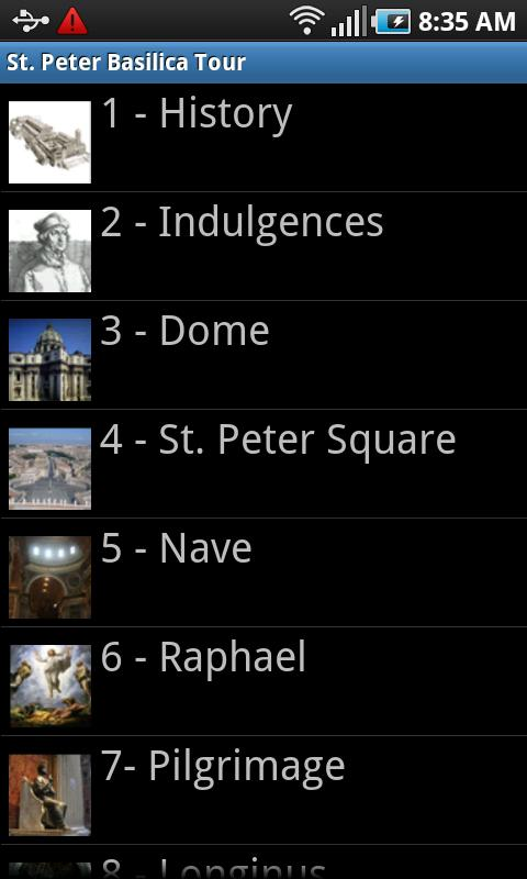 Vatican St Peter Basilica Rome- screenshot