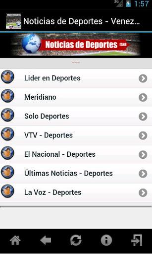 Noticias de Deportes Venezuela