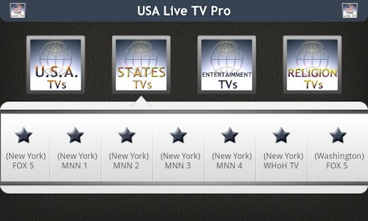 USA Live TV Pro - screenshot thumbnail