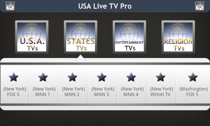 USA Live TV Pro - screenshot