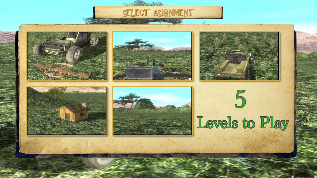 4x4 Safari Race : Poacher Hunt - screenshot