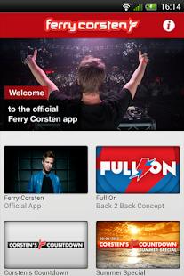 Ferry Corsten - screenshot thumbnail