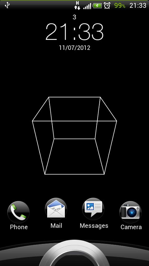 Cubes Live Wallpaper- screenshot