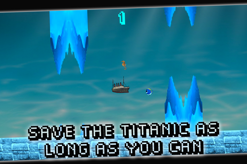 Flappy Titanic - screenshot