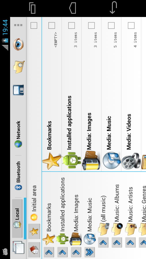 CASTLE File Manager- screenshot