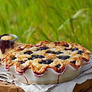 Latticed Cherry Pie