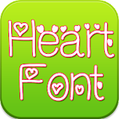 Heart Font for Samsung Galaxy