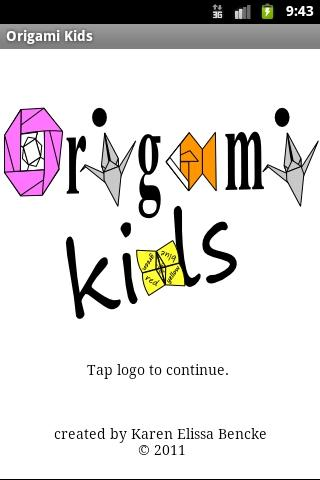 Origami Kids - screenshot