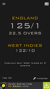 Cricket Live Scores & News - screenshot thumbnail