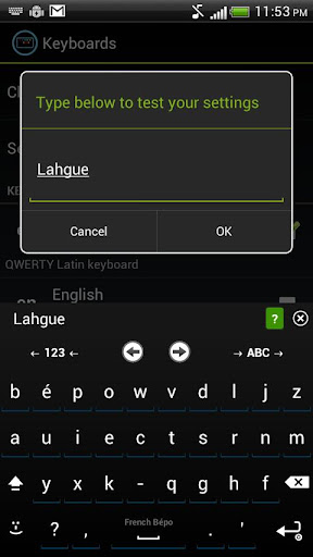 French Keyboard for iKey