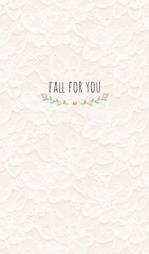 Fall for you 카카오톡 테마