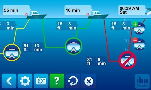 DiveMax AIR Dive Planner- screenshot thumbnail