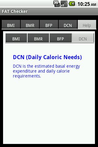 Body FAT Checker- screenshot