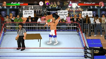 Screenshot of Booking Revolution (Wrestling)