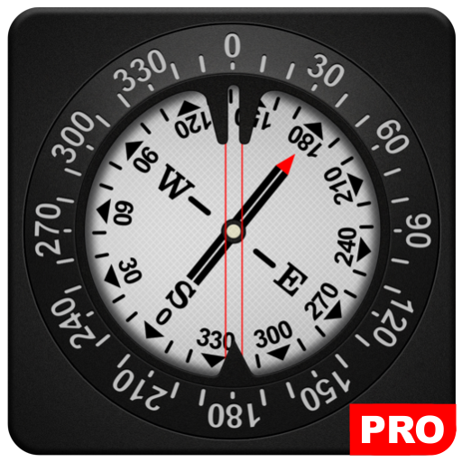 Compass PRO app for Android