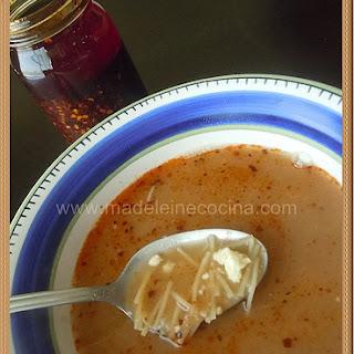 Cold Bean Noodle Soup.